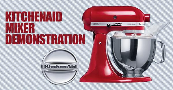 Kitchenaid demo