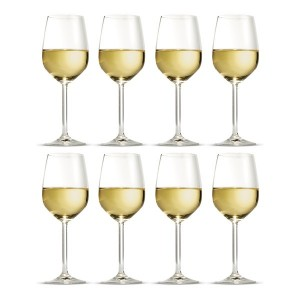 S & P Avignon 8Pce Wine Glasses