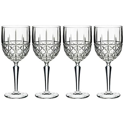 Waterford Marquis 4Pce Crystal Wine Glasses