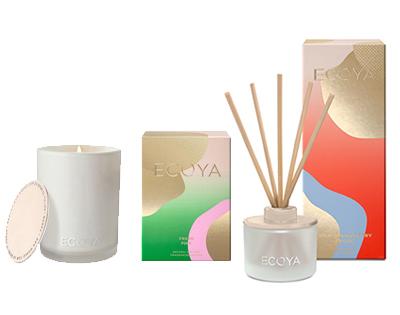 Ecoya candle + diffuser