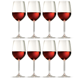 S & P Avignon Red Wine Glasses