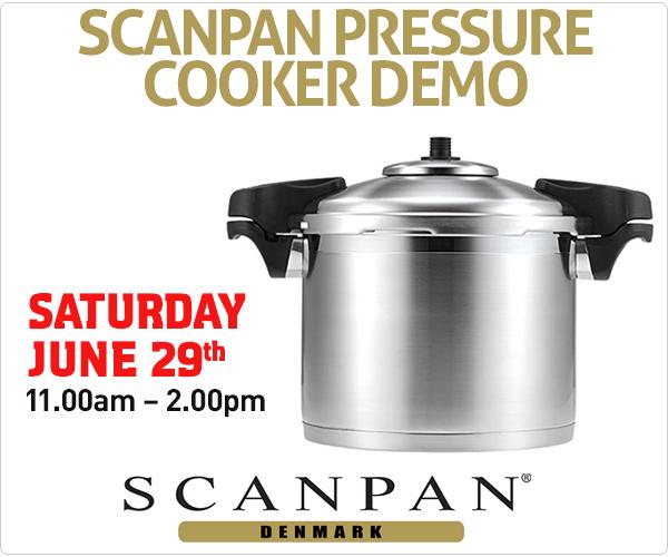 Scanpan Pressure Cooker Demo