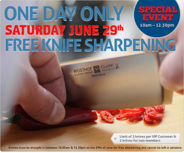 Knife Sharpening Demo