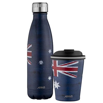 Avanti Flag Drink Bottle and Go Cup